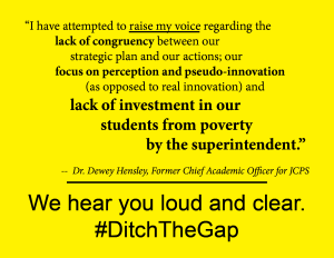 DItch The Gap